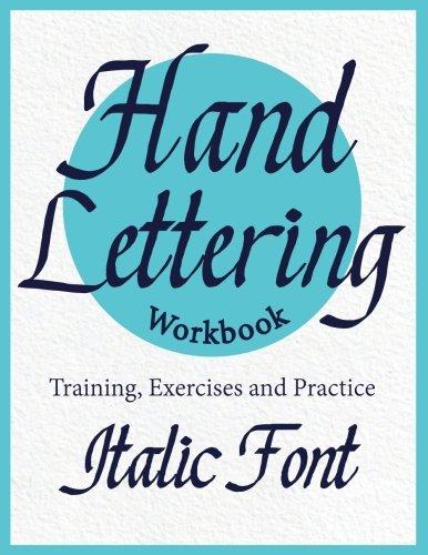 Free Hand Lettering Workbook