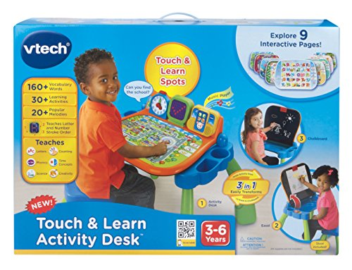 Vtech Touch And Learn Activity Desk Buy Online In Uae