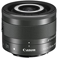 Canon EF-M 28mm f/3.5 Macro IS STM Lens (International Model-No Warranty)
