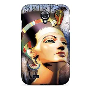 Defender Case With Nice Appearance (nefertiti) For Galaxy S4