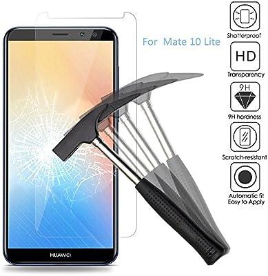 2x Huawei Mate 10 Lite Protector de Pantalla, Huawei Mate 10 lite ...