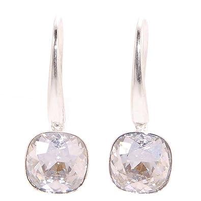 15aa6fbbfcb3 Pendientes Plata 925 para mujer con cristal de Swarovski