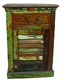 Moti Furniture Beach Night Stand, 18X12X26-Inch