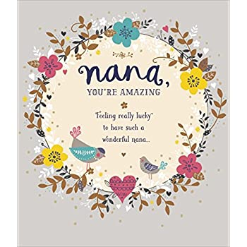 Amazon nana youre amazing birthday greeting card health nana youre amazing birthday greeting card m4hsunfo