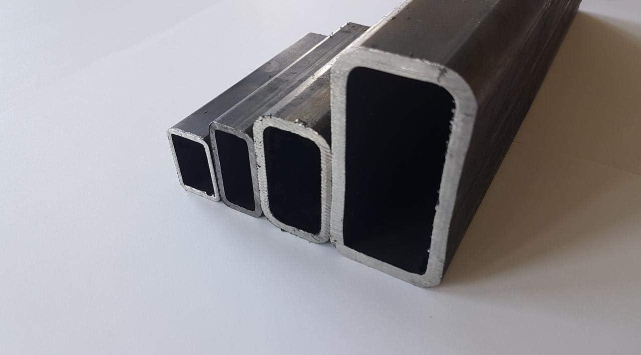 Rechteckrohr Stahlrohr Vierkantrohr 1500mm E235-60x40x3mm EN 10305-5 L= 500-2000mm