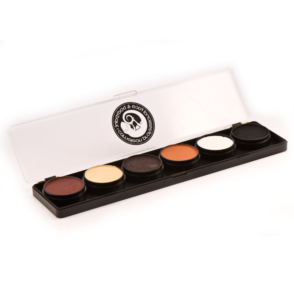 Cameleon 6 Color Face Paint Palettes - Dermaniac (10 gm) by Cameleon