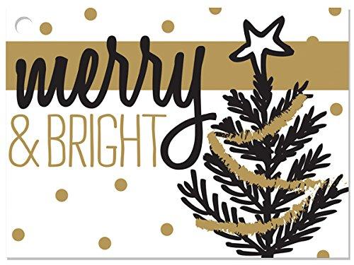 [해외]골든 홀리데이 트리 기프트 카드 (6 팩) 344x2 ~ 3 개 / Golden Holiday Trees Gift Cards (6 Pack) 3-34x2-34