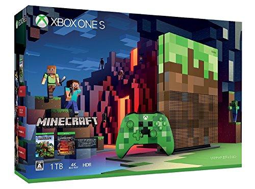 Xbox One S 1TB Minecraft リミテッド エディションの商品画像