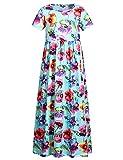 Best Dear-lover Flower Girl Dresses - Jxstar Long Maxi Dress Girl with Pockets Floral Review