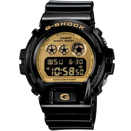 Casio G Shock Classic oro Dial Digital Multifunción Mens Reloj DW6900CB-1: Casio: Amazon.es: Relojes