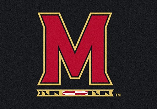 Maryland Terrapins NCAA Milliken Team Spirit Area Rug (5'4