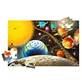 Melissa & Doug Solar System Floor Puzzle (Floor Puzzles, Easy-Clean Surface, 48 Pieces, 36' L x 24' W, Great Gift for Girls and Boys - Best for 3, 4, 5, and 6 Year Olds)