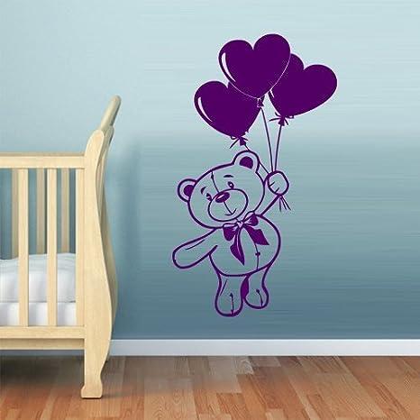 Amazon Com Bear Wall Decals For Kids Black Bear Wall Art Bear Wall