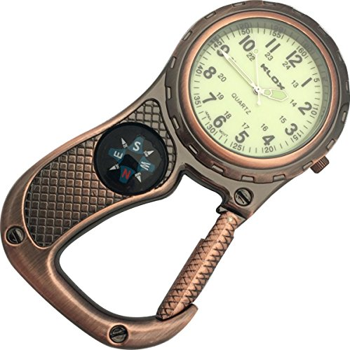 Glow Dark Belt Watch compass