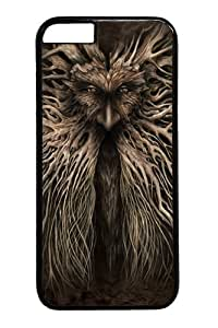 iphone 6 plus Case and Cover -Oak Man PC Hard Plastic Case for iphone 6 plus 5.5 inch Black