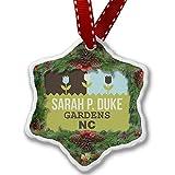 Christmas Ornament US Gardens Sarah P. Duke Gardens - NC - Neonblond