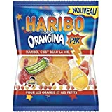Haribo Orangina Sour Gummy Candies 250 Grams - Three Flavors