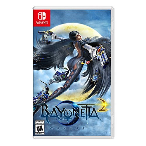 Bayonetta 2 Nintendo Switch Physical Game Card