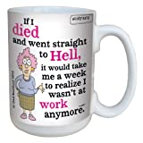 Best CloseoutZone Auntie Coffee Mugs - Hilarious Aunty Acid Straight to Hell Large Coffee Review