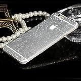 WeShop® - Bling Bling avant et arrière Protector Stickers Pour iPhone6 4,7 pouces Argent