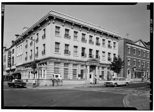 Historicalfindings Photo  Potomac Savings Bank 1200 Wisconsin Avenue Northwest Washington Dc Habs