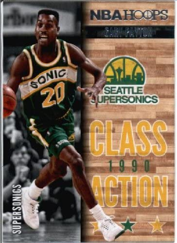 2013//2014 anneaux classe Action Basketball Card#23 Gary Payton Supersonics Seattle