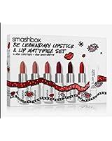 Smashbox Be Legendary Lipstick + Lips Mattifier Set (6 Mini Lipsticks + Mini Insta-matte)