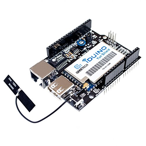 AuBreey Linux, WiFi, Ethernet, USB, All-in-one Yun Shield Compatible for Arduino Leonardo, UNO, Mega2560, Duemilanove Development Board