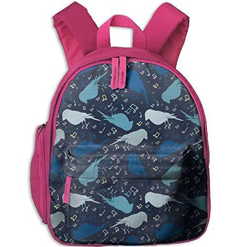 Birdie Canvas - Backpack Birdie Bag Canvas Backpack School Bag