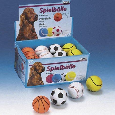 Toy Balls, Foam Rubber, Ø 6 Cm