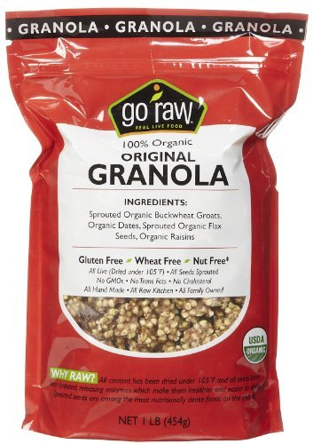 Go Raw 100% Organic Live Granola Cereal, 1 lb Bags by Go Raw