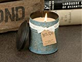 Himalayan Candles Blue Spice Tin Candle, 10-Ounce, Tobacco Bark