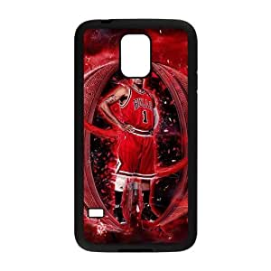 linfenglin Customized Print Derrick Rose Hard Skin Case Compatible For Samsung Galaxy S5 I9600