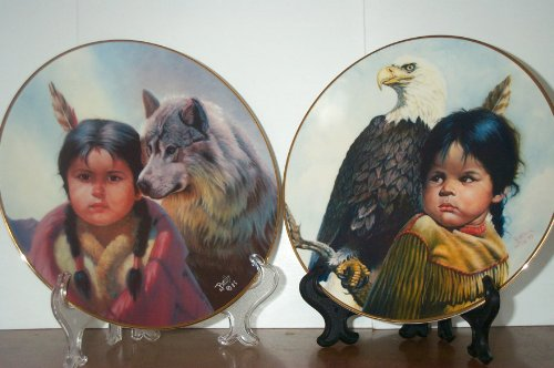 Collector's Plates - Pride of American Indians - 8 Plate Set By Gregory Perillo ()