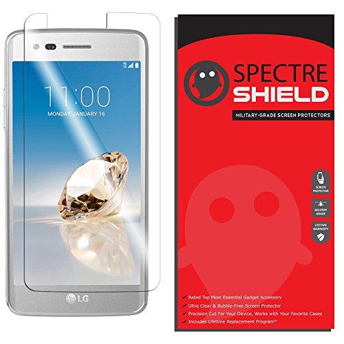 LG Aristo Screen Protector by Spectre Shield Full Coverage Invisible HD Clear Anti-Bubble Anti-Scratch Film