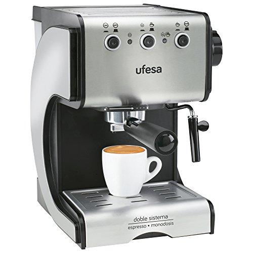 Ufesa CE7141 Duetto Creme - Cafetera Expresso, 1050W, 15 Bares ...