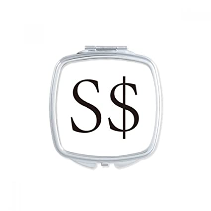 Amazon Currency Symbol Singapore Dollar Square Compact Makeup