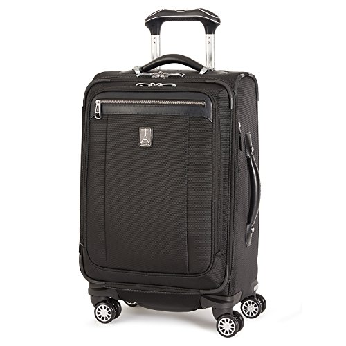 - Travelpro PlatinumMagna2 International Carry-On Expandable Business Plus Spinner Carry-On Suitcase, 20-in., Black