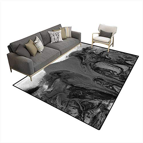 - Area Rugs for Bedroom Abstract Acrylic anwatercolor paintebackground 6'x9' (W180cm x L270cm