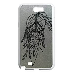 DIY Newly Fashion Individualized Henna Ojibwe Dream Catcher Ethnic Tribal Funny Design Cell Phone Case Cover For Samsung Galaxy note 2 case N7100 Hard Plastic Mobile Phone case Protective Shell free shipping