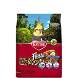 Kaytee Fiesta Max Bird Food for Cockatiels, 2-1/2-Pound, 1 Pack