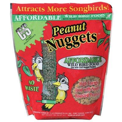Peanut Wild Bird Nuggets [Set of 3] by C & S