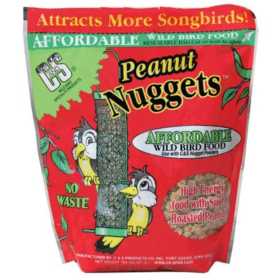 Peanut Wild Bird Nuggets [Set of 3]