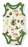 Earthy Organic Baby Sleeveless Bodysuit Boy Girl