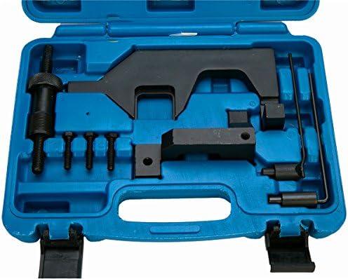 Freetec Catena di distribuzione Strumento Strumento di regolazione motore 8 pezzi Compatibile con BMW N13 N18 F20 F30 Mini R55 R56 985