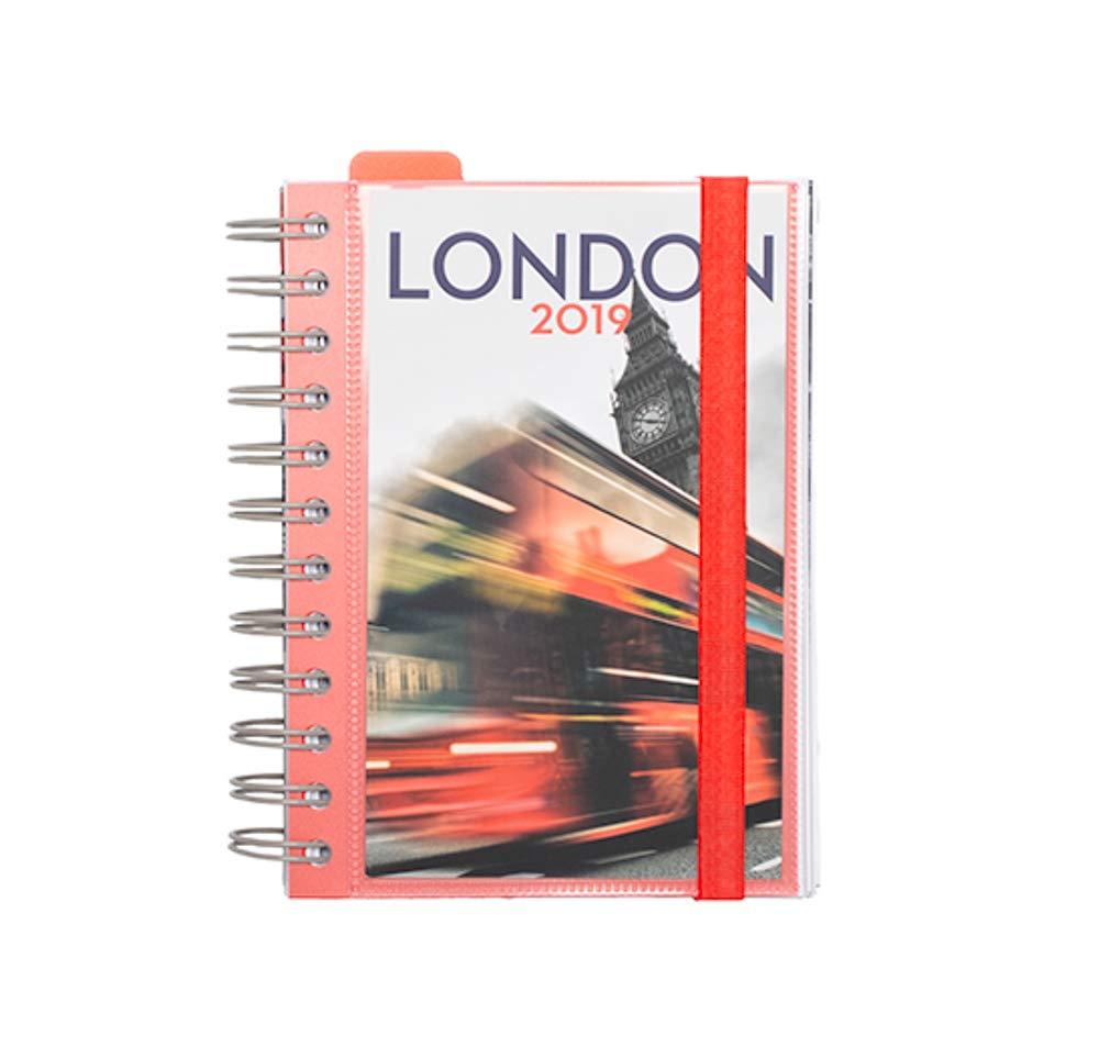 Grupo Erik Editores AGEDP1910 - Agenda anual 2019 con diseño London, día pagina