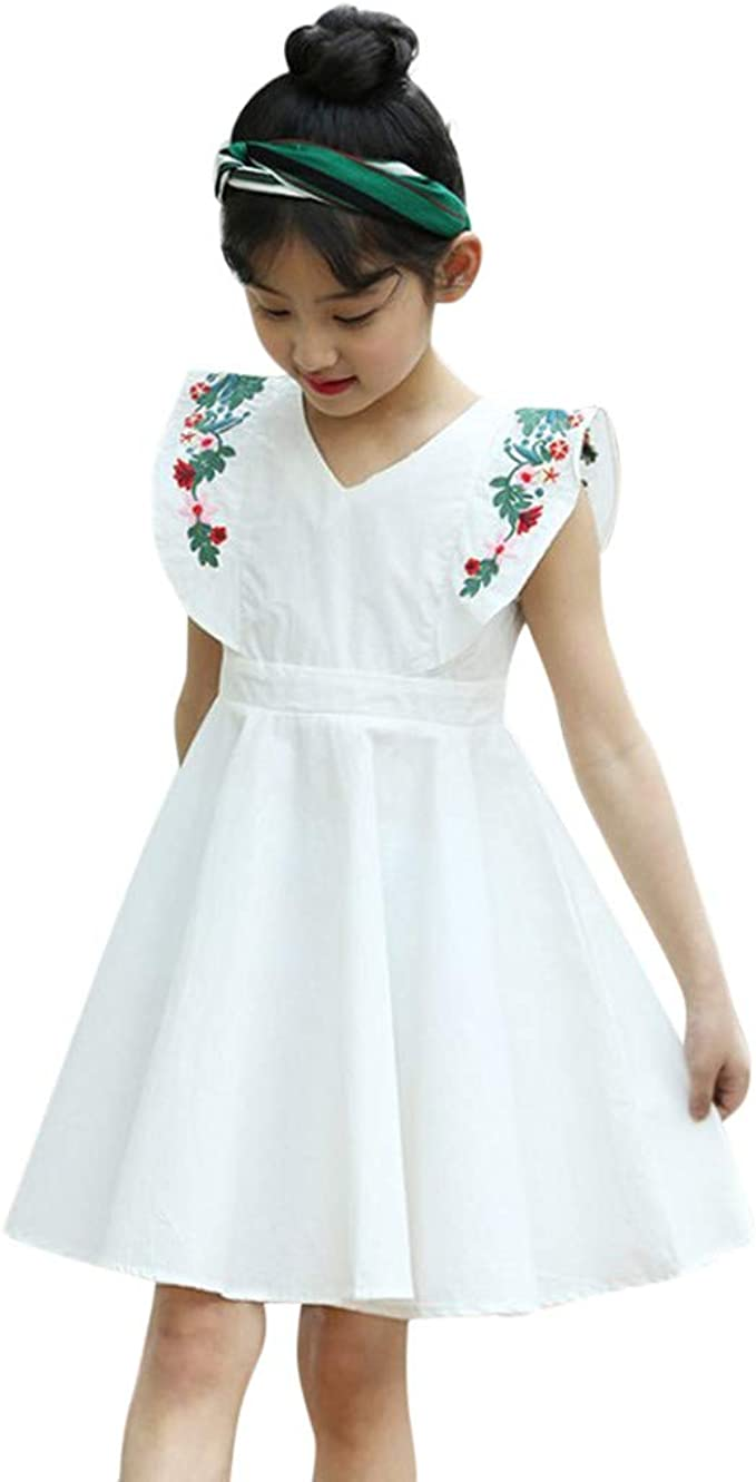 ASHOP Vestidos niña Verano Colores Faldas Tutus Vestido de ...