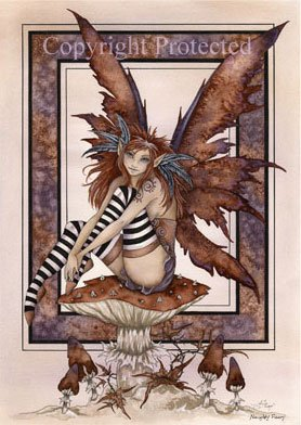 Naughty Faery Amy Brown Open Edition 5.5