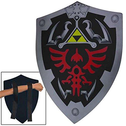Dark Link Shadow Legends of Zelda Foam Shield (Medieval Foam Larp Shield)