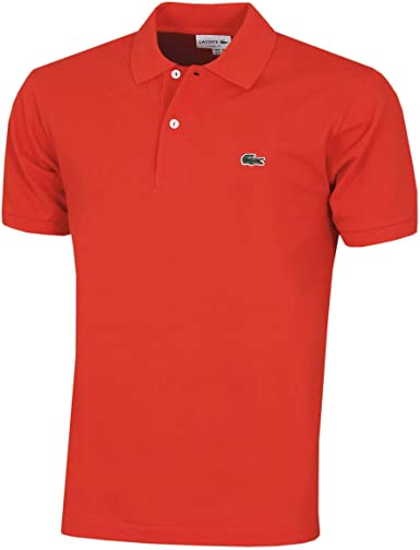 Lacoste Short Sleeve Classic Pique Polo Shirt Camisa Hombre: Amazon.es: Ropa y accesorios